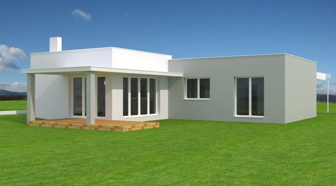 predaj, rodinný dom, garážou, projekt